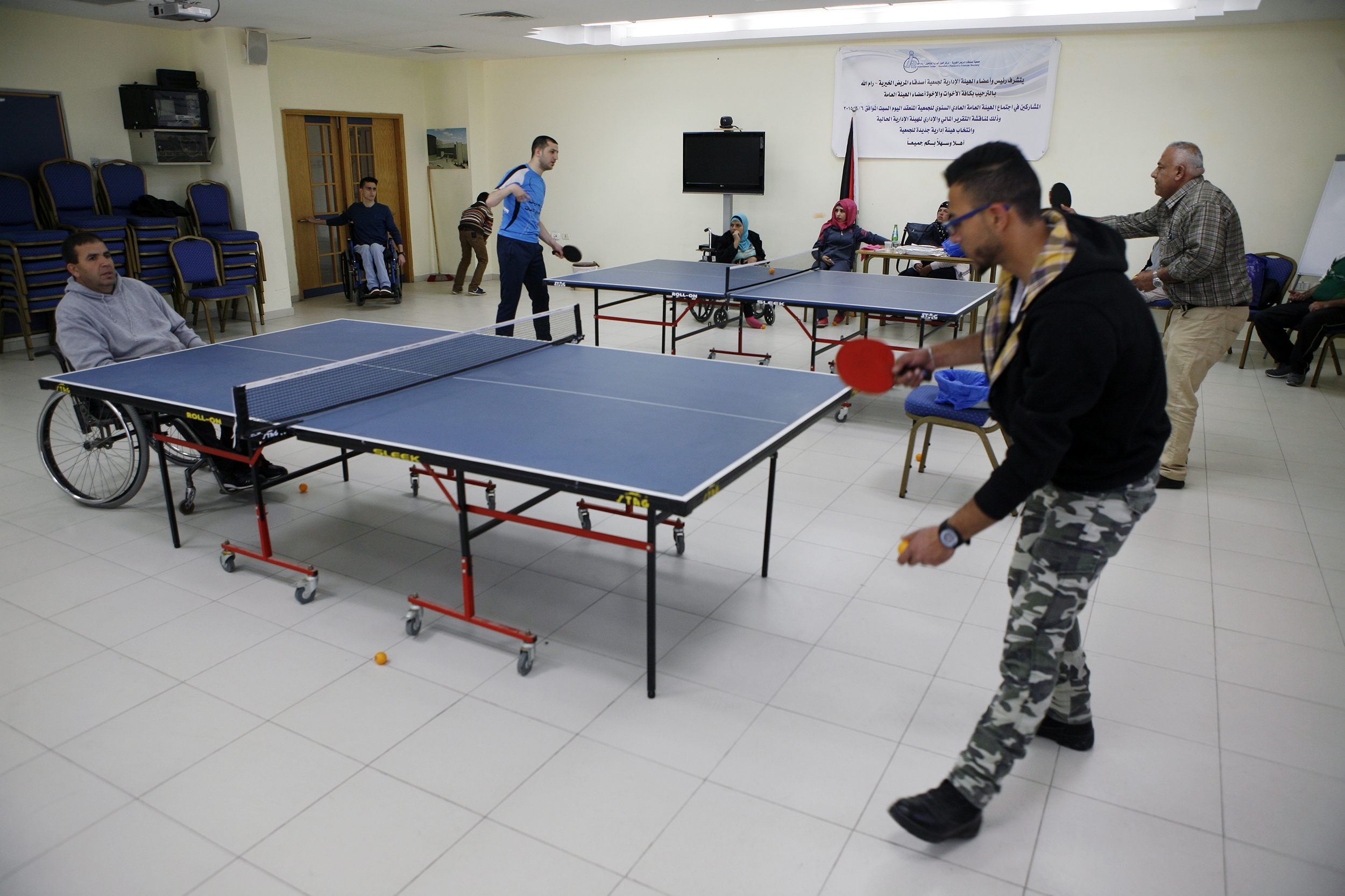 Playing Ping Pong with Disability | Inter Press Service