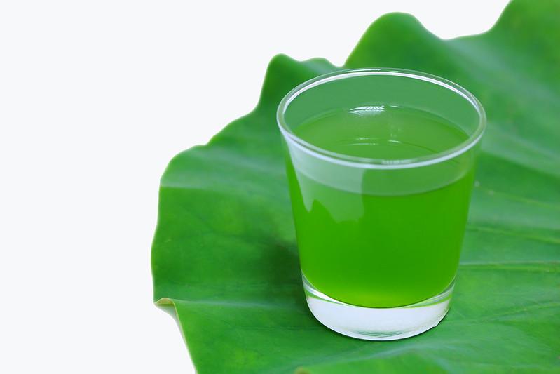 green glas