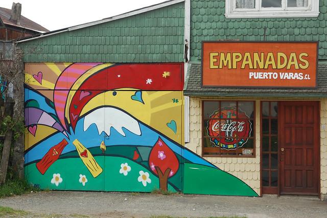Empanadas Store in Puerto Varas, Chile