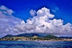 Clouds  St. Kitts, Caribbean Island