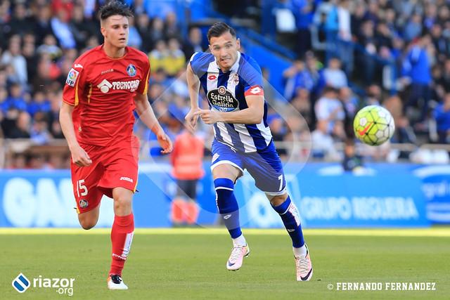 Liga BBVA. Jornada 36ª. Deportivo 0 - Getafe 2