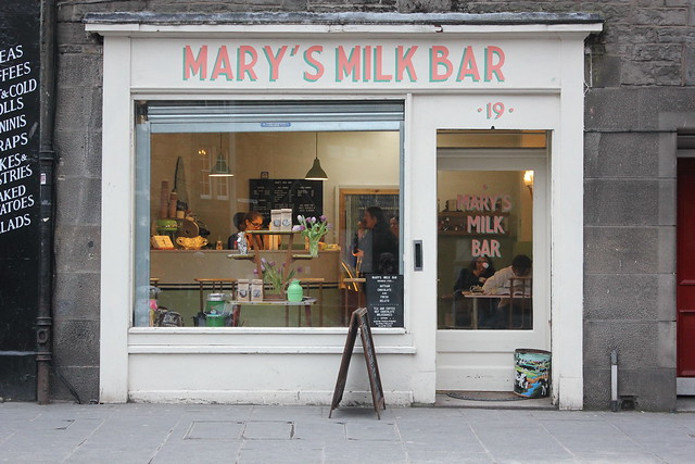 Mary's Milk Bar, Edinburgh
