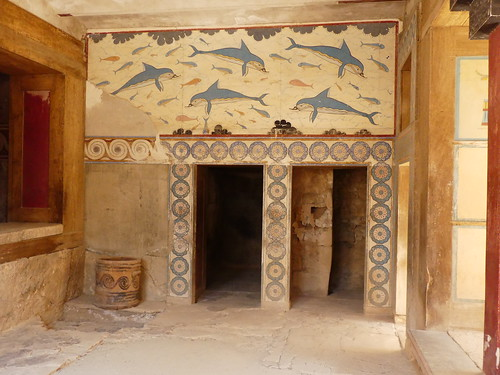 Palace of Knossos on Crete. About 1500BCE.