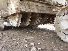 chantier retraitement de chaussée
