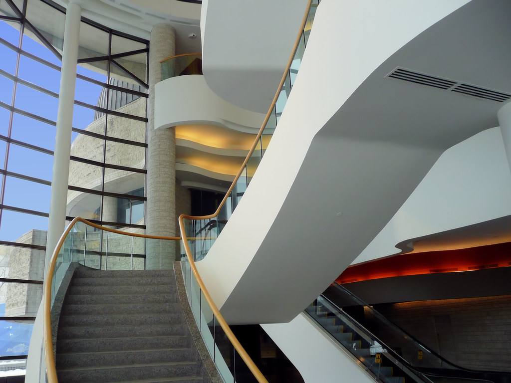Staircase, Canadian Museum of History, Ottawa, Ontario, Canada