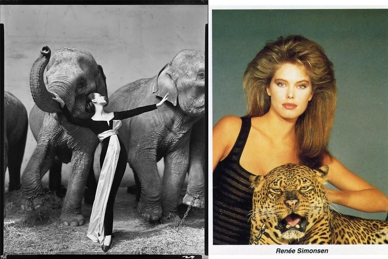 人類史上真正美麗與性感完美結合的物種—80年代超模2