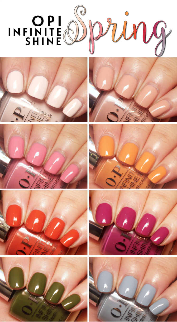 OPI Infinite Shine Spring 2016 pin