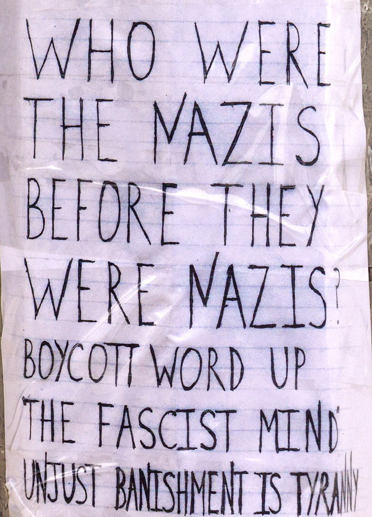 WHO WERE THE NAZIS BEFORE THEY WERE NAZIS--Washington Heights (detail)