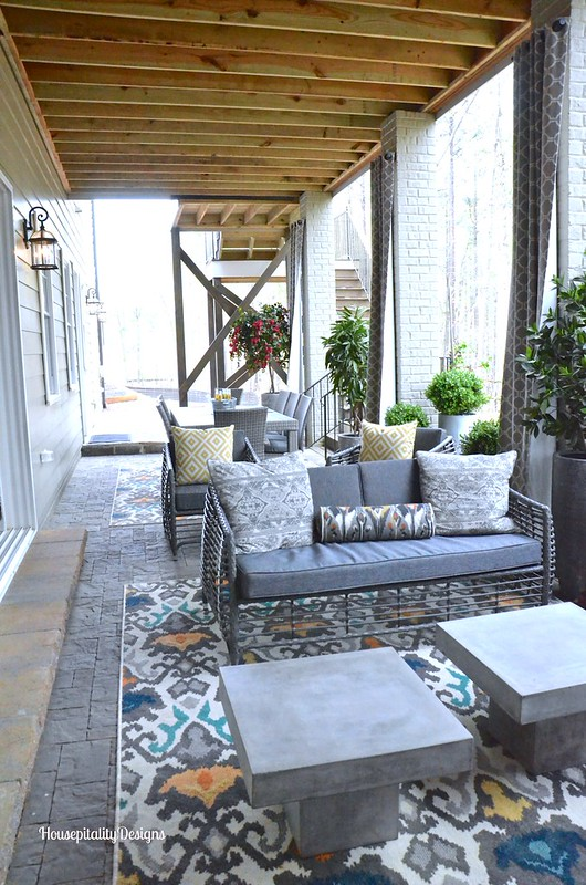 Basement level porch/HGTV 2016 Smart Home - Housepitality Designs