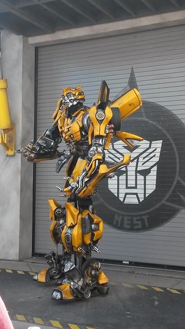 Transformer gelb