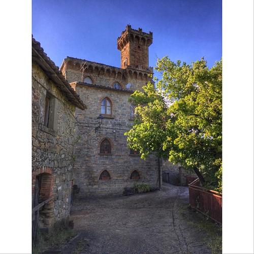 Bonifaci's castle of Vallenquina, Teramo county - Abruzzo region