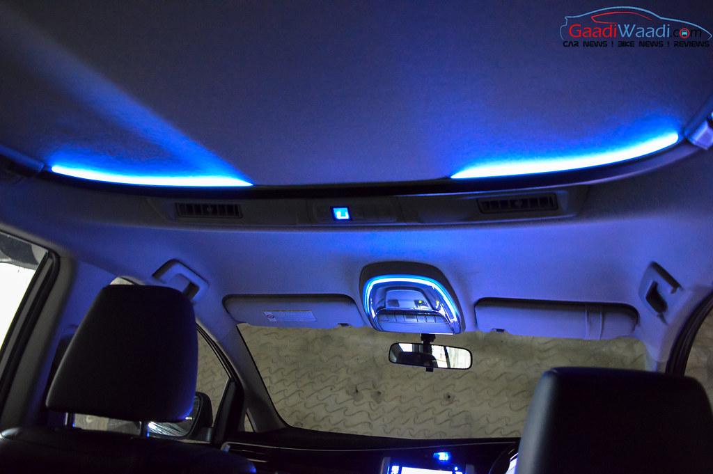 Toyota Innova Crysta interior illumination_