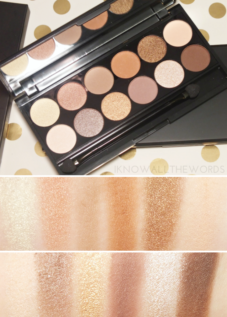 sleek i-divine a brand new day eyeshadow palette