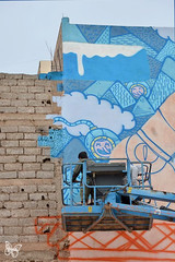 Poes & Jo Ber Mural - The Game of Life