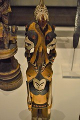 painted wooden figure, Igbo, Nigeria