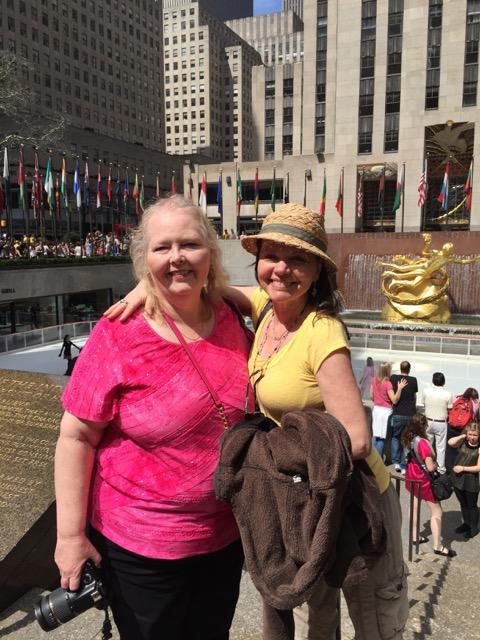 Lisa and Heidi