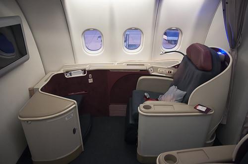 TK Business Class seat