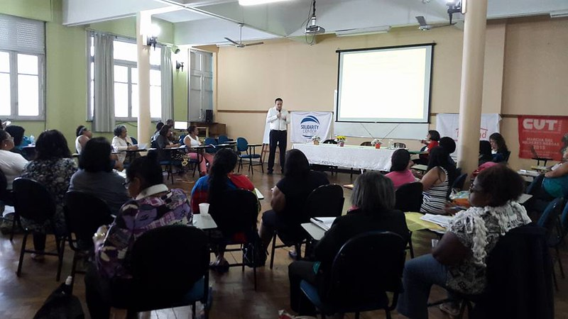 2015-12-4~6 Brazil: Strategic planning workshop - Strengthening trade union of domestic workers
