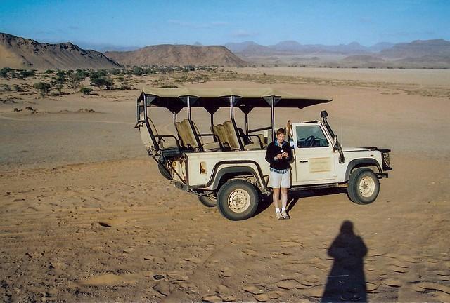 Sundownerfahrt im Namib Naukluft Park