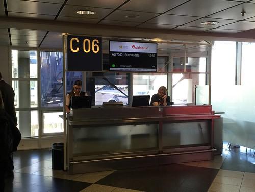 Terminalbereich C6 - Airport Munich