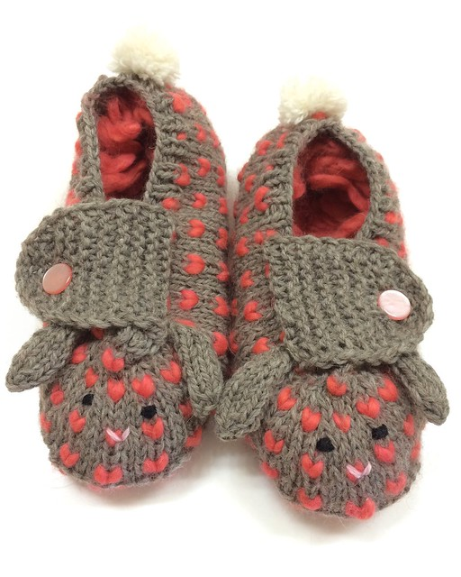 Thrummed Bunny Slippers