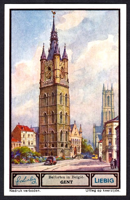 Liebig Tradecard S1330 - Gent (Ghent)