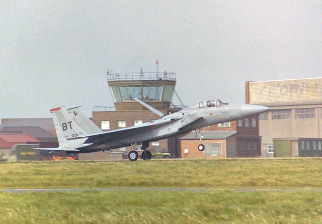 80-0022/BT F-15C Arrive