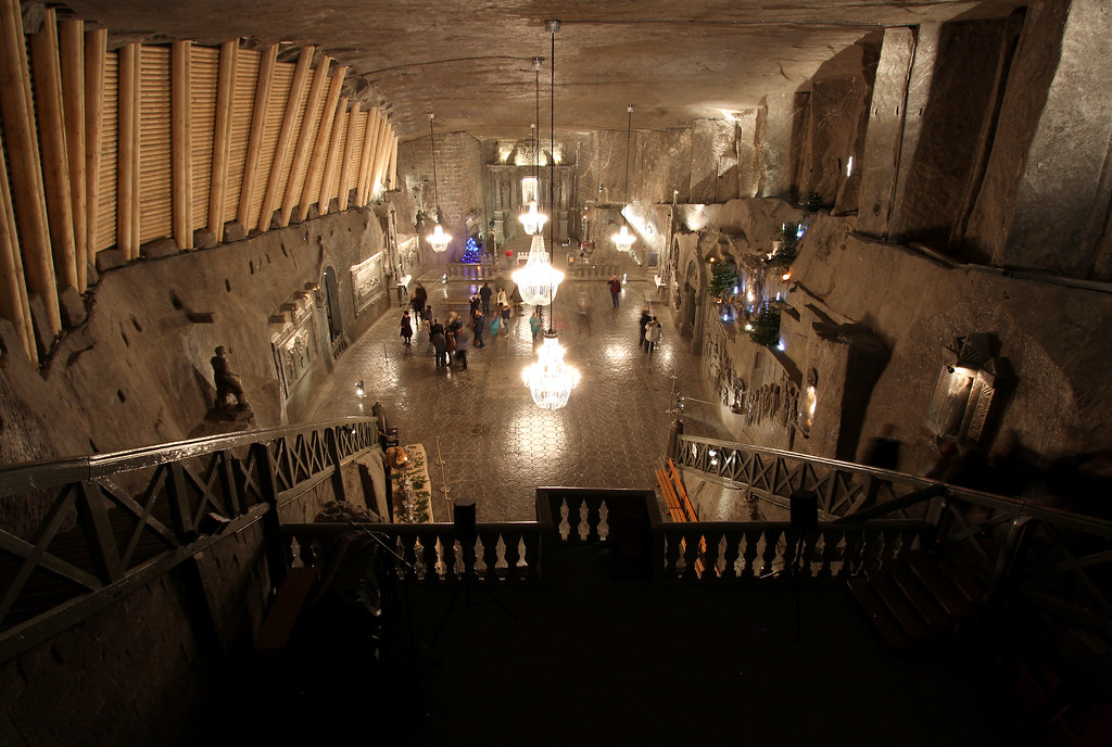 Underground Chapel  UNESCO World Heritage, largest salt mine in the world near Kráków, Poland