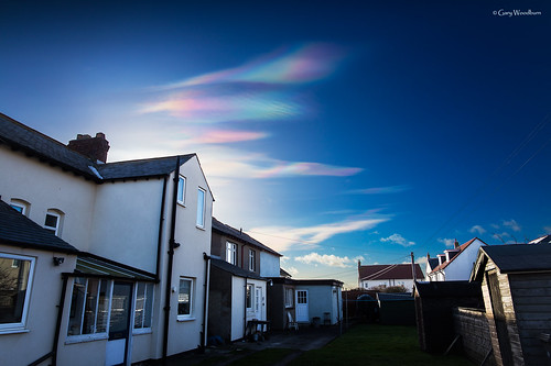 Clouds of Colour - Nacreous Clouds, Beadnell, Northumberland