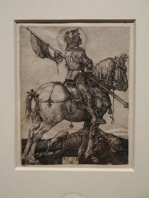 1505+1508 - 'St. George on horseback' (Albrecht Dürer), Nürnberg, Koninklijke Bibliotheek van België, Brussel, Belgium