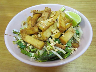 Asparagus Pad Thai Salad