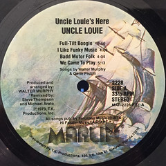 UNCLE LOUIE:UNCLE LOUIE'S HERE(LABEL SIDE-A)