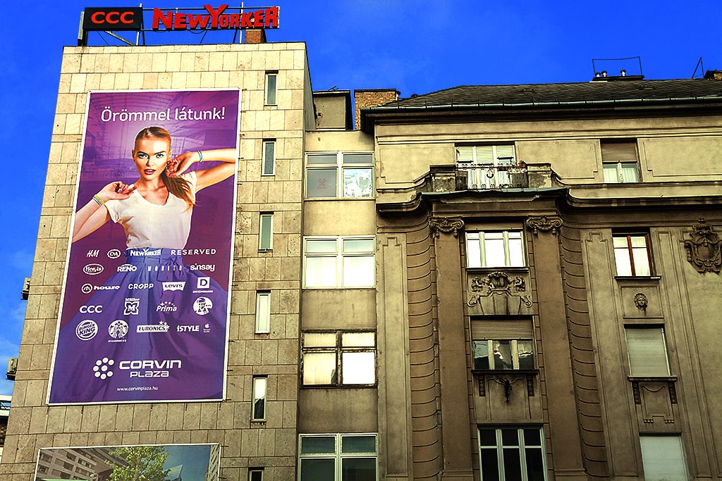 NEW YORKER--Budapest
