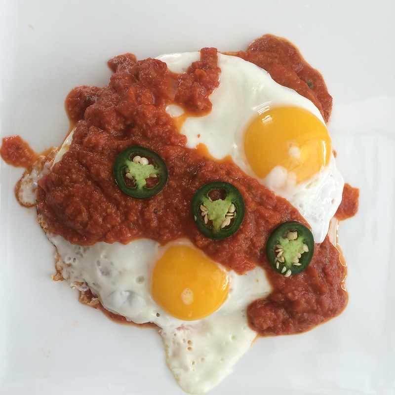 Huevos Rancheros at home