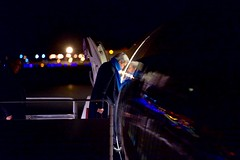 U.S. Secretary of State John Kerry ducks his head as he boards his airplane before dawn on February 10, 2016, for the flight from Andrews Air Force Base in Camp Springs, Maryland, to Munich, Germany, so he can attend meetings focused on Syria and also address the Munich Security Conference. [State Department photo/ Public Domain]