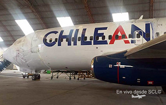 Chilean Airways B737-200 Adv mantto (Fernando Ruiz)