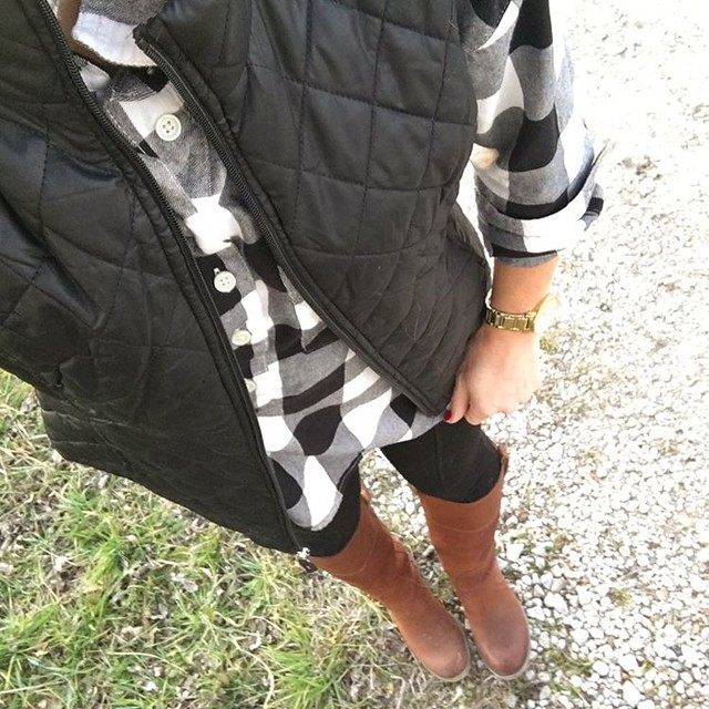 Layered up for these crazy cold mornings & warm afternoons. #texaswinter #sugarplumstyle // www.liketk.it/283yI