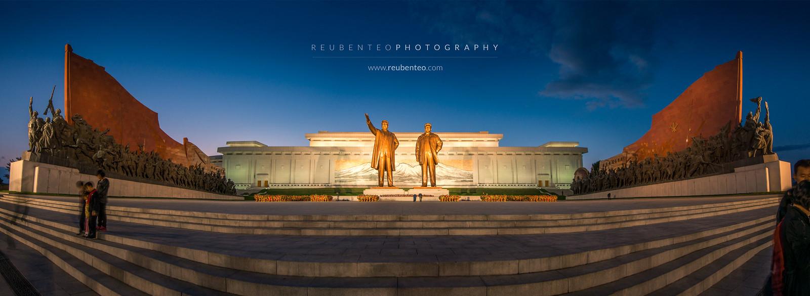 Mansudae Grand Monuement, Pyongyang