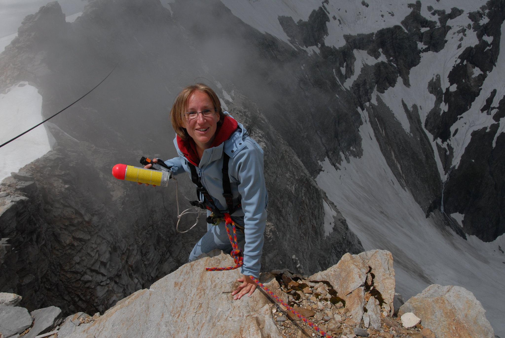 Weather Measurement Equipment Maintainance, Claudia Riedl, Austria.