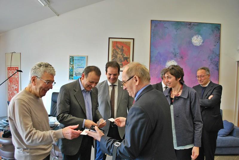 Visita delegazione Rumena