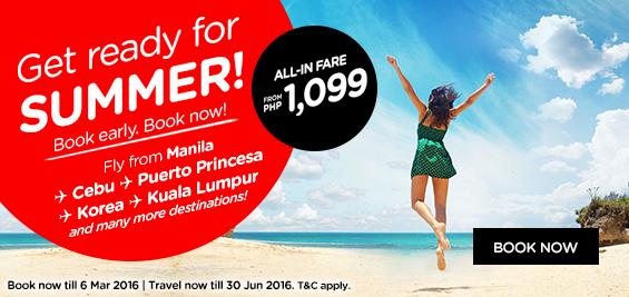 Air Asia Promo February 29 2016