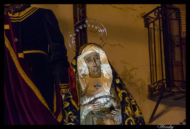 Virgen María en El Descendimiento