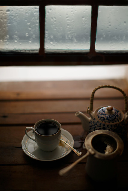 A rainy afternoon and a cup of tea