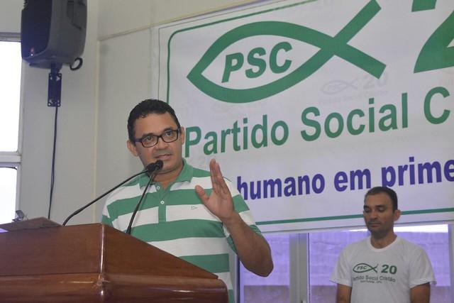 Presidente da Câmara de Vereadores Santarém oficializa ingresso no PSC