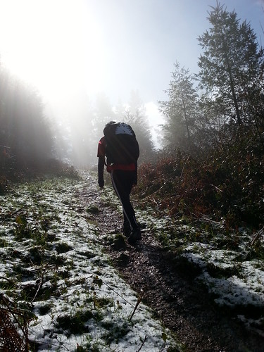 Domingo de nieve en el monte: Elgoibar-Karakate-Irukurutzeta-Sargoate-Elgoibar