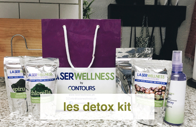 quit smoking detox kit