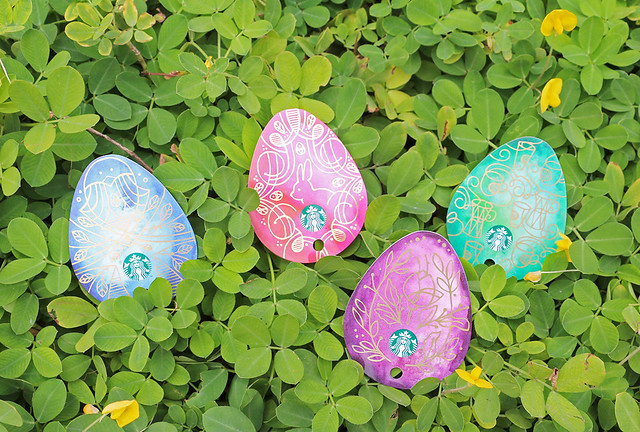 Starbucks Easter Egg Cards