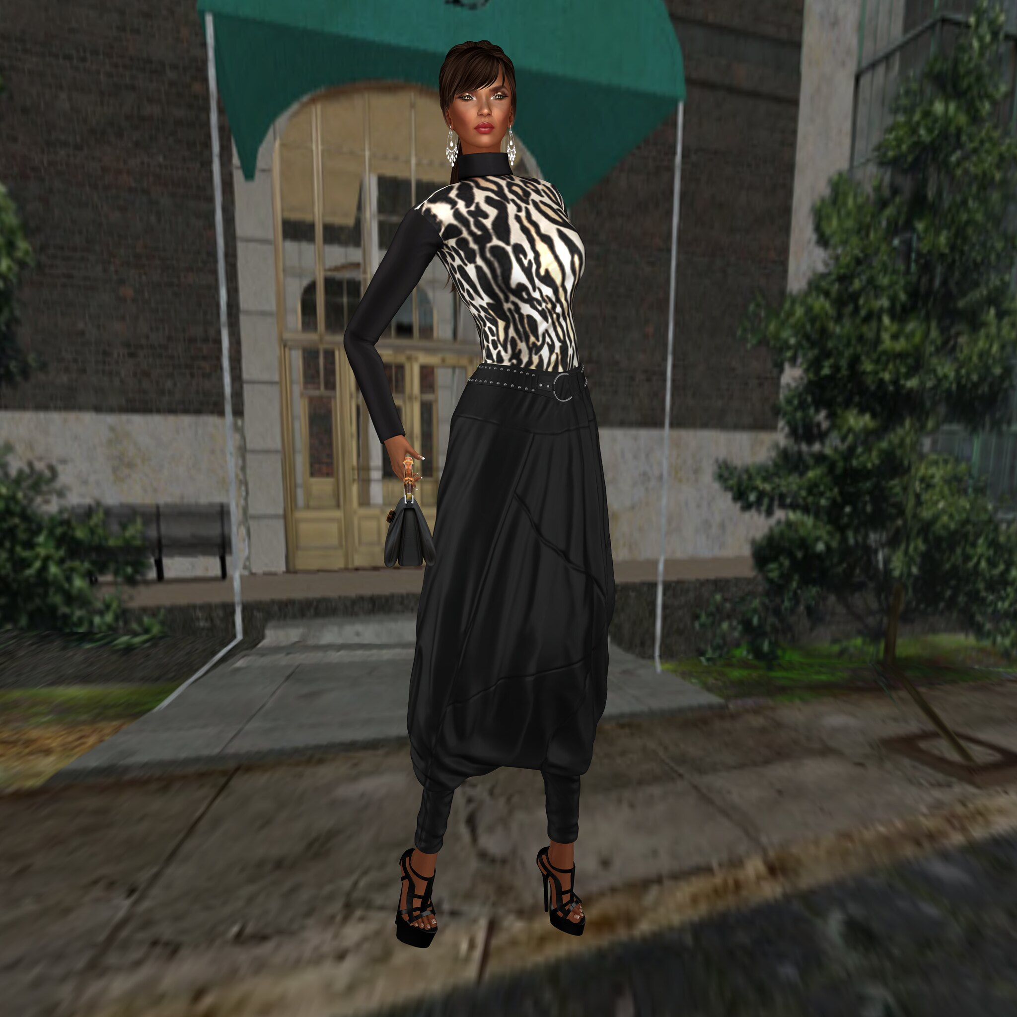 LEGENDAIRE- Worth It Outfit & Worth It Heels