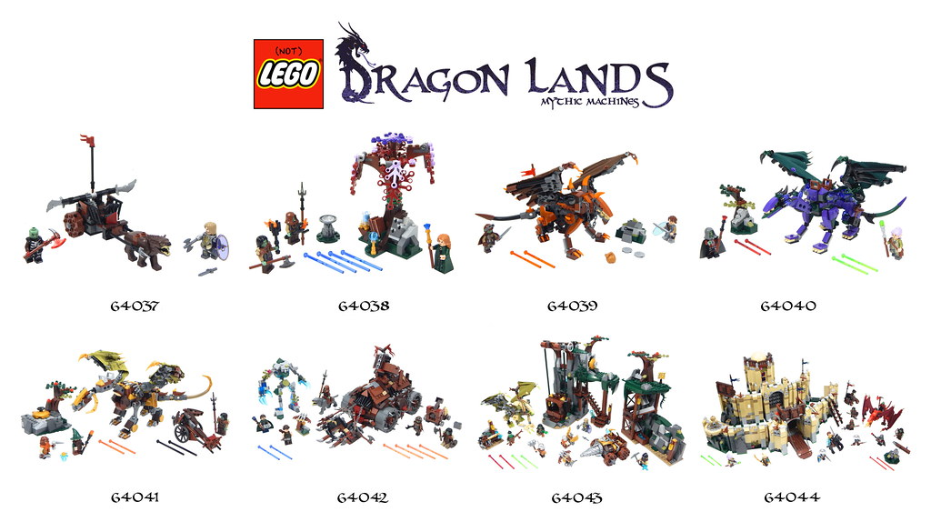 Dragon Lands Wave 4