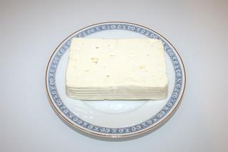 10 - Zutat Schafskäse / Ingredient feta